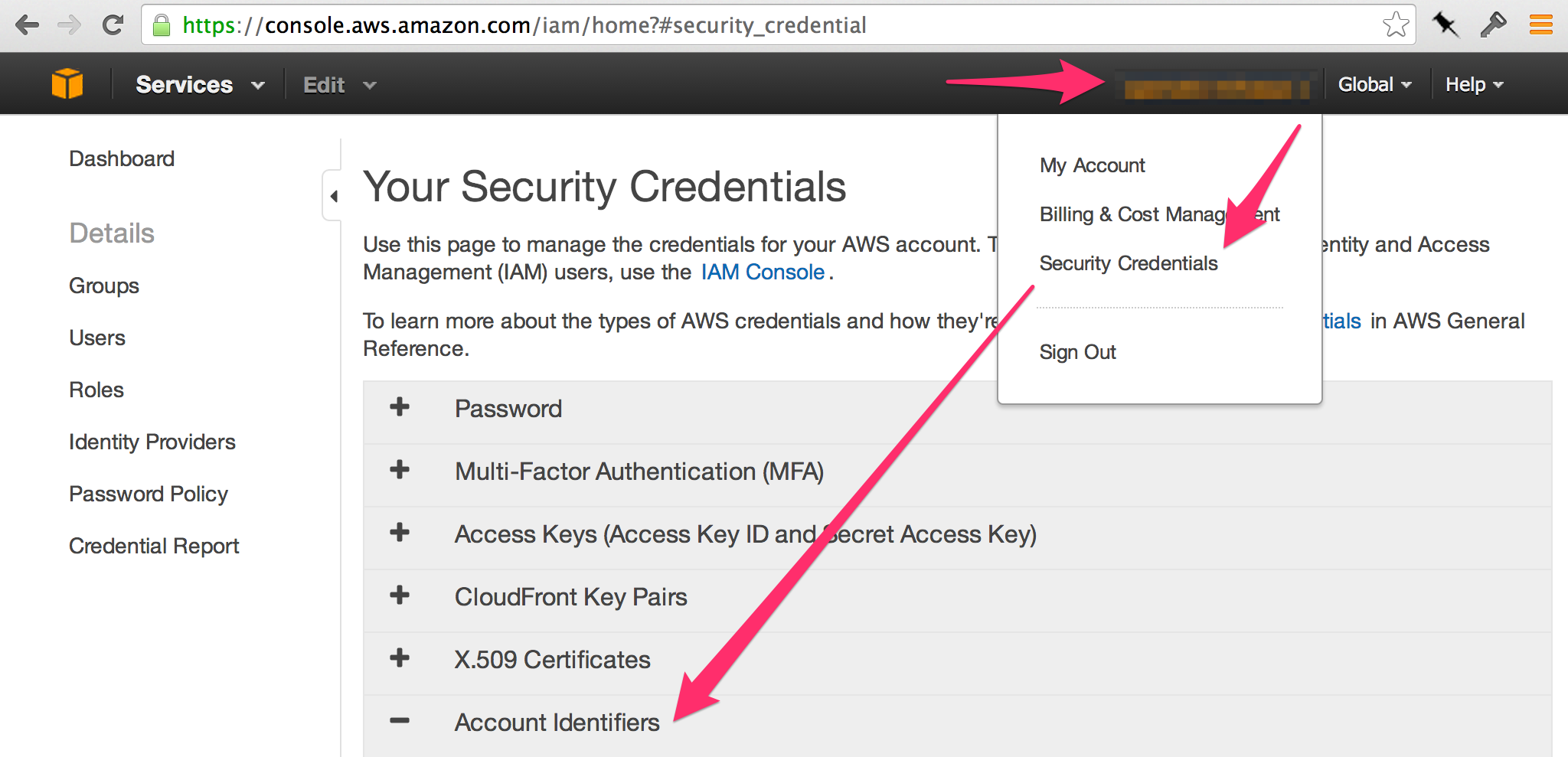 aws account ids